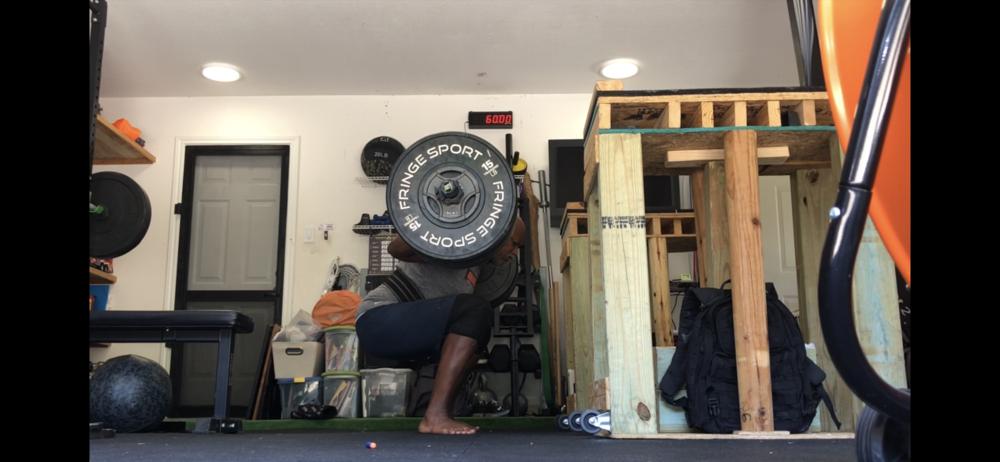 My garage wod