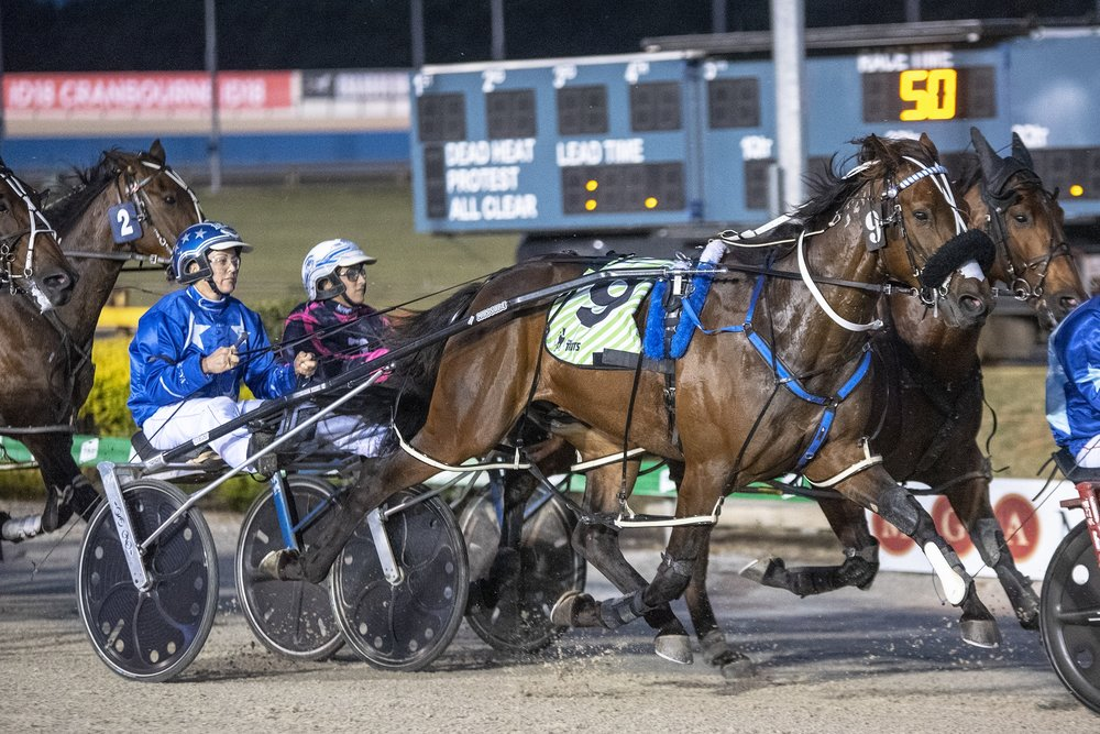 Spankem, TAB Inter Dominion Pacing Championship 3rd Round Heat 1 Winner