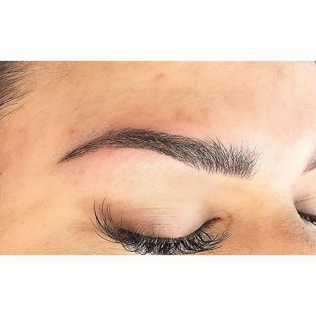 I was lucky enough to work on these beautiful brows!! Also can we please take a second to appreciate those lashes! 🙀 @warhorsetattoo #berkeley #permanentmakeup #microblading