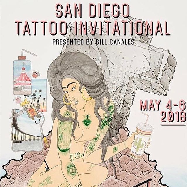 Yayy!!! I'm so excited to be back in my old stomping grounds with @tacomonster and @ben_cheeseltd !! Come hang out and say hi!! 🌮 @warhorsetattoo #sandiego #california #berkeley #sarahrevisbrows #tattoos
