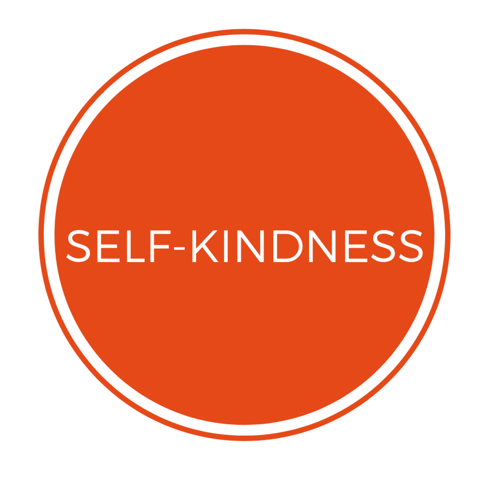 SELF-KINDNESS   Instead of criticising ourselves, the ability to offer self-kindness brings warmth and understanding to our sufferings. Self-compassionate people recognise and acknowledge that experiencing difficulties in life is inevitable.  When we deny or fight against this reality, suffering increases in the form of stress, frustration and self-criticism. When we accept this reality with sympathy and kindness, greater emotional equanimity (calmness and composure, especially in a difficult situation) is experienced.