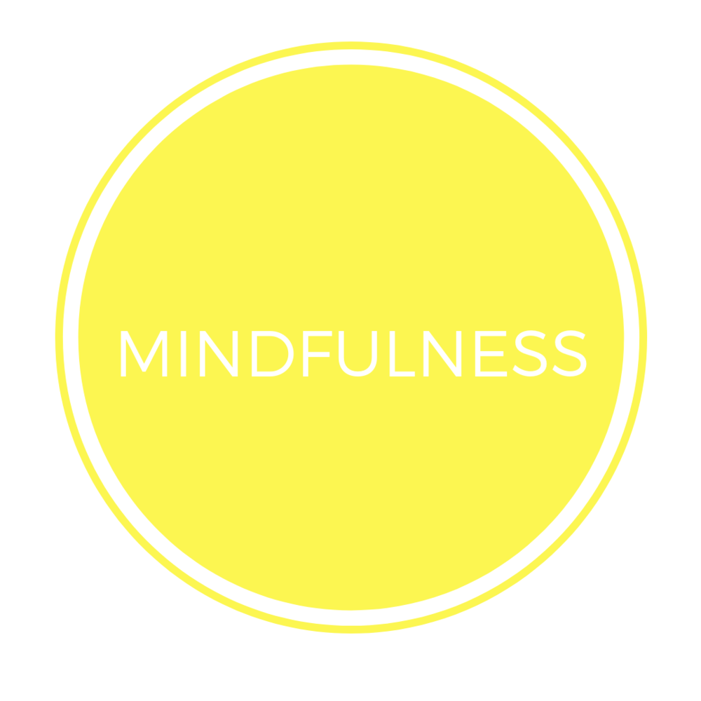 "MINDFULNESS   Mindfulness is a practice that can be developed into a positive life habit. It consists of paying attention, with full intention and awareness, to what we are experiencing, in the present moment, and moment by moment. These experiences may consist of thoughts, feelings, moods, emotions, or bodily sensations.  An important aspect of mindfulness practice is that we learn to be open, allowing and to not evaluate or judge these experiences as they arise. When we face our sufferings and relieve them, mindfulness helps us to avoid being ""overly-identified"" with thoughts and feelings, lest we get caught up and swept away by negative reactivity."
