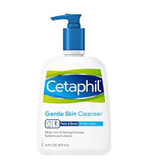 Cetaphil Gentle Skin Cleanser  ($6 - $18)