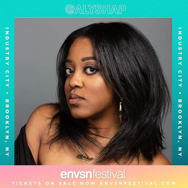 Incredible event lined with incredible women! Meet @alyshap ・・・ Surprise!!! The ladies of @blackgirlpod will be at @envsnfest tomorrow!  We'll be doing a Meet + Greet with all our listeners! Click the link in my bio for 50% off! Be sure to use the ticket code ENVSNQUEEN | See you there! #envsnfest