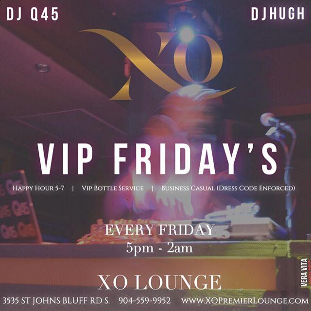 In case you were asking yourself what to do tonight.  #Friday #Friyay . . #xo #xolounge #xopremierlounge #xojax #xojackaonville #jacksonvillenightlife #904 #904happyhour #nightout #nightlife