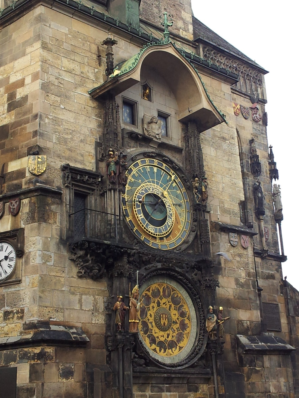 Communication is the essence of technical success - The Prague Astronomical Clock has been going for more than 600 years.
