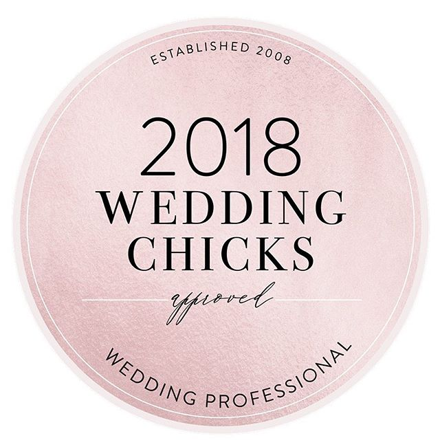 "We're beyond honored to have been listed as one of the ""Top 18 Planners We're Obsessed With Right Now"" by @weddingchicks! If you didn't see the article, you should definitely check it out through the link in our bio. And if you're engaged, we should chat, since we're Wedding Chicks approved! 😉"