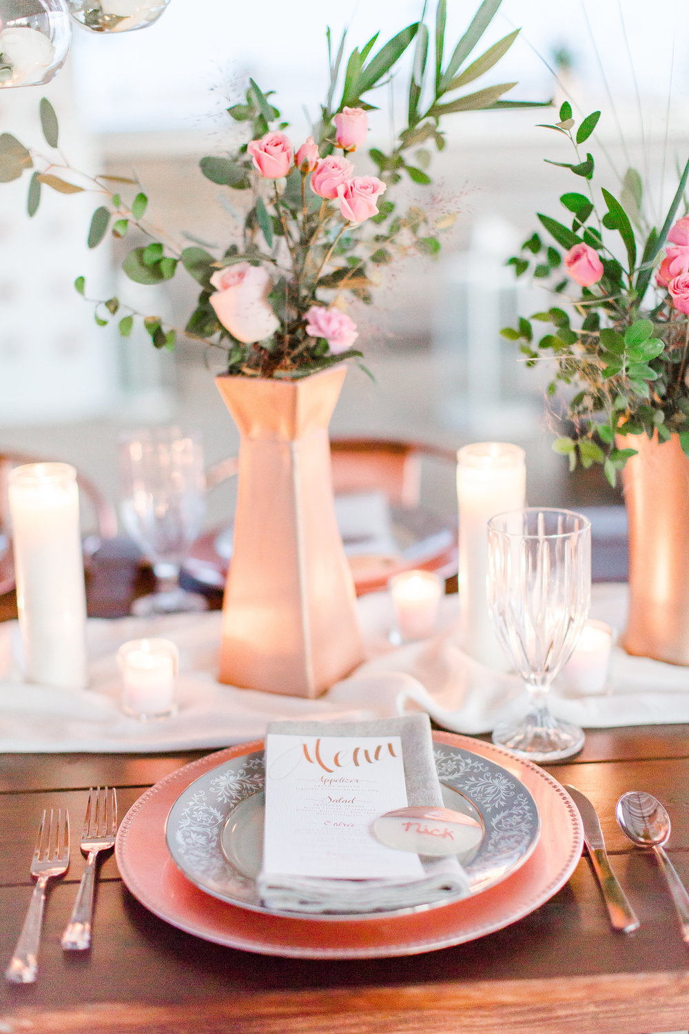 Rose-Gold-Oceanfront-Beach-Wedding
