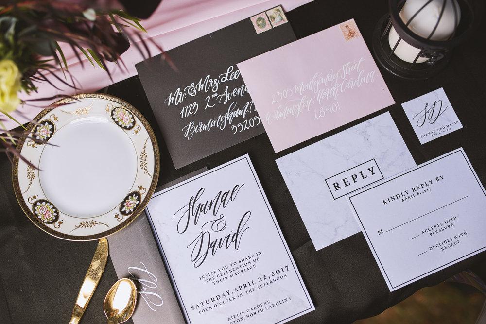 Trendy-Blush-Black-Airlie-Gardens-Wedding-2