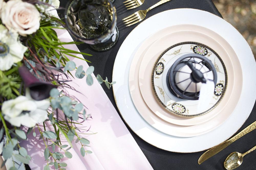 Trendy-Blush-Black-Airlie-Gardens-Wedding-5
