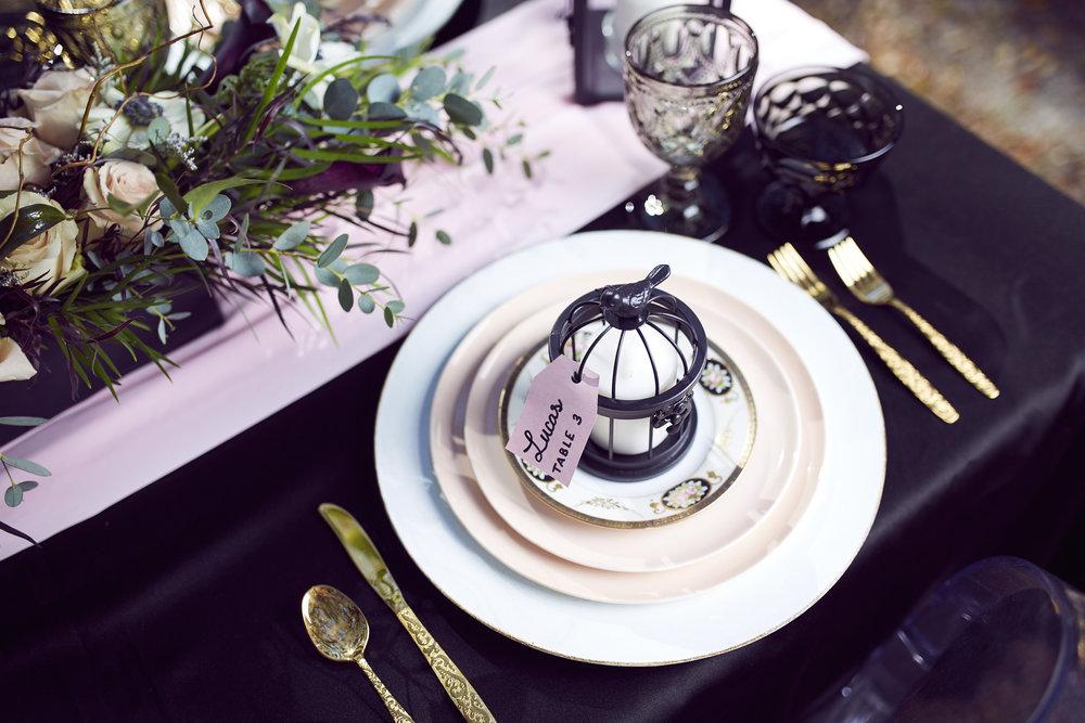 Trendy-Blush-Black-Airlie-Gardens-Wedding-6
