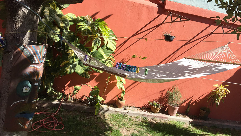Hammocks are more common in Chapala than they are in Los Angeles, and so are mosquitoes.