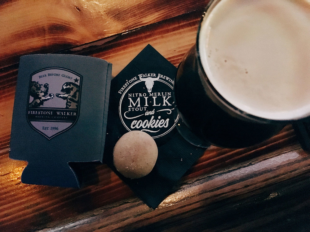 Nitro Merlin Milk Stout and Brown Butter Cookies? Yes, absolutely.