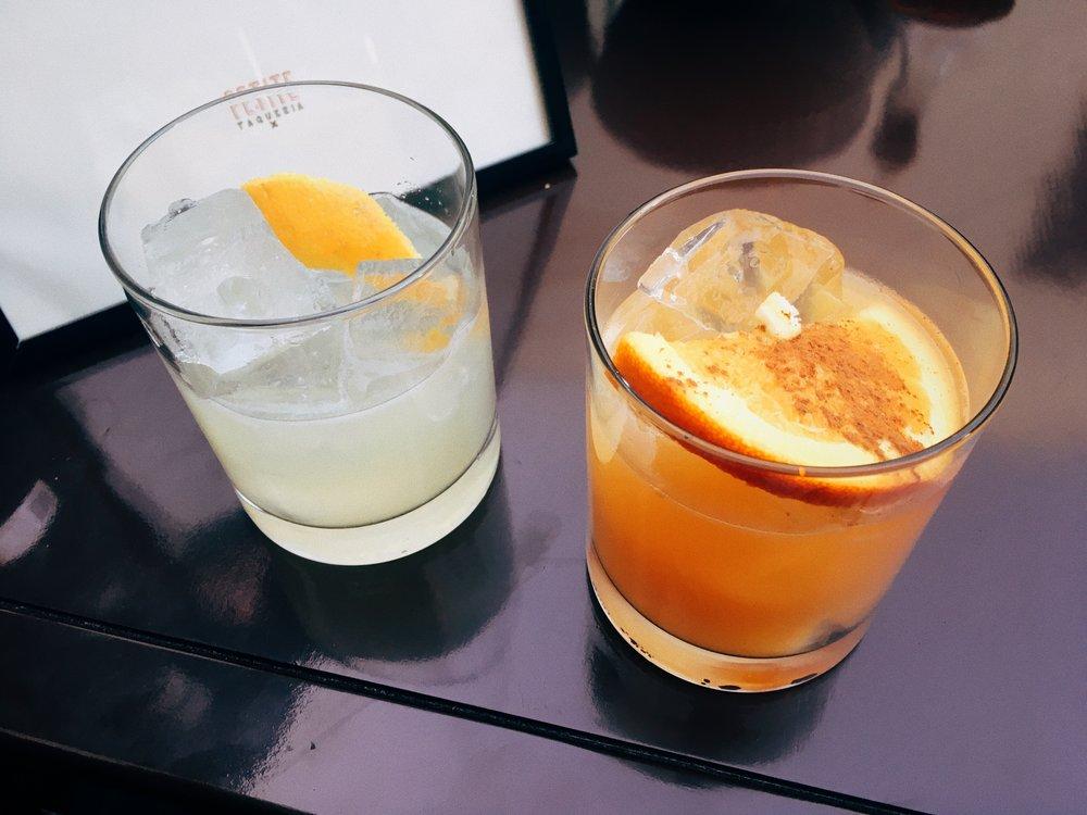 Both the Casa Margarita and Spiced Margarita were super tasty.