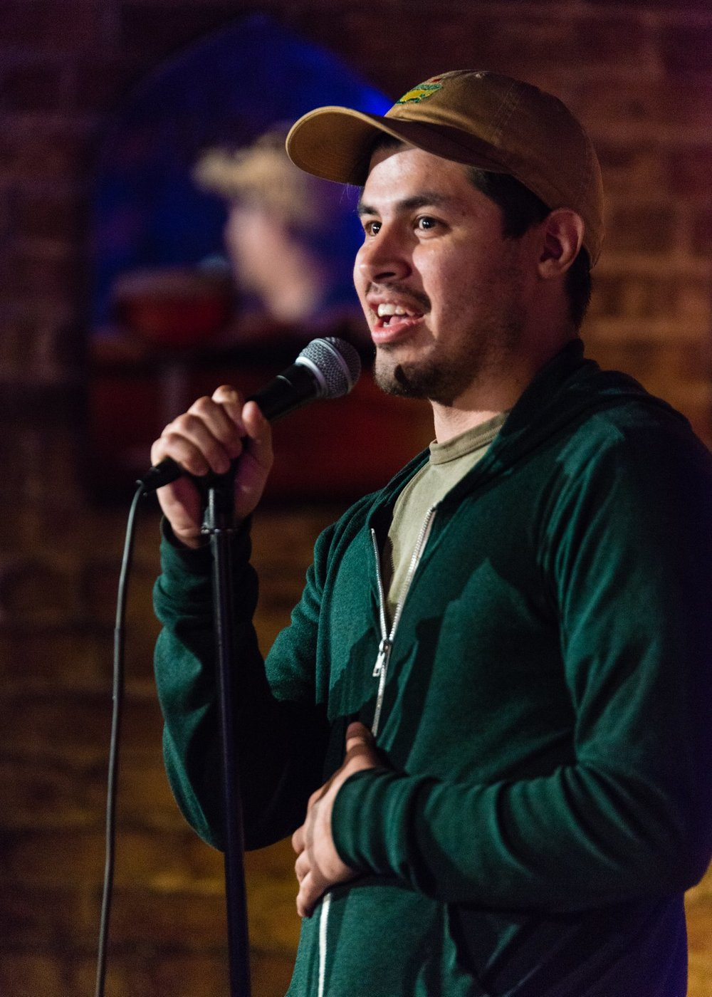 Christian Reyes stand-up.