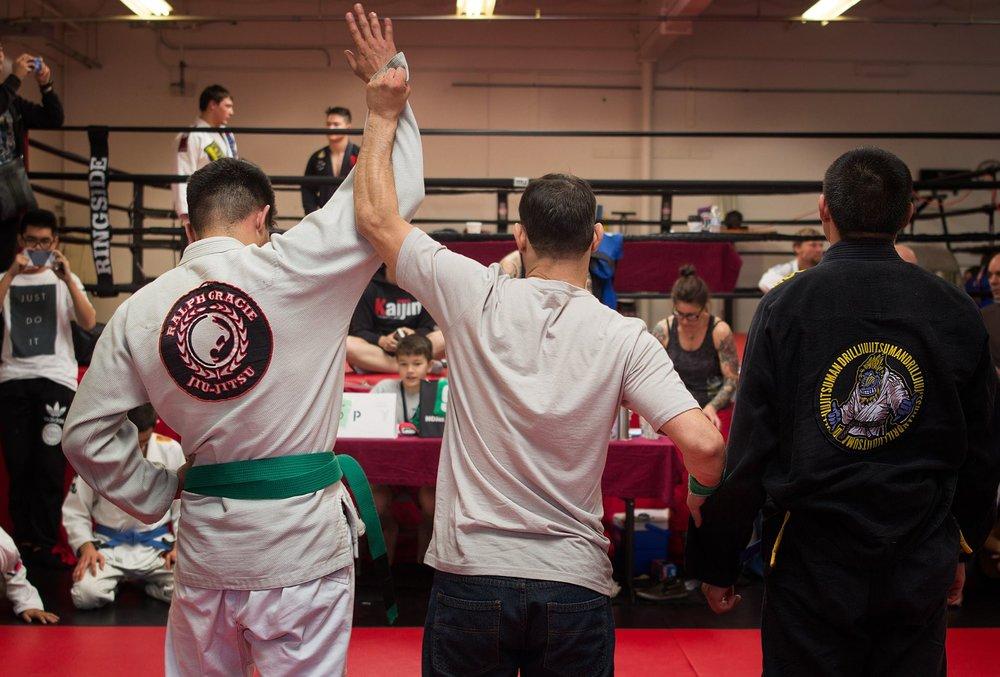 Reyes jiu-jitsu.