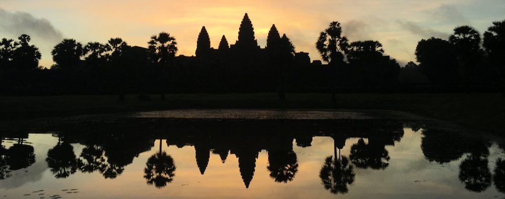 Sometimes accomplishing a personal goal or bucket list item makes me feel alive. This is a picture of Angkor Wat at sunrise-a dream come true and something I'll always remember. However, sometimes, we put too much pressure on ourselves to ACHIEVE. I hope this post helps you explore what really brings you happiness this summer... what will leave you renewed for another school year .... and stop the worrying about the rest.
