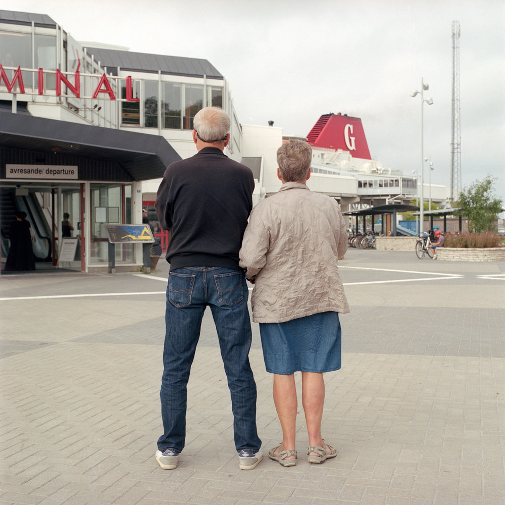 Ferry Terminal,  Gotland, Sweden