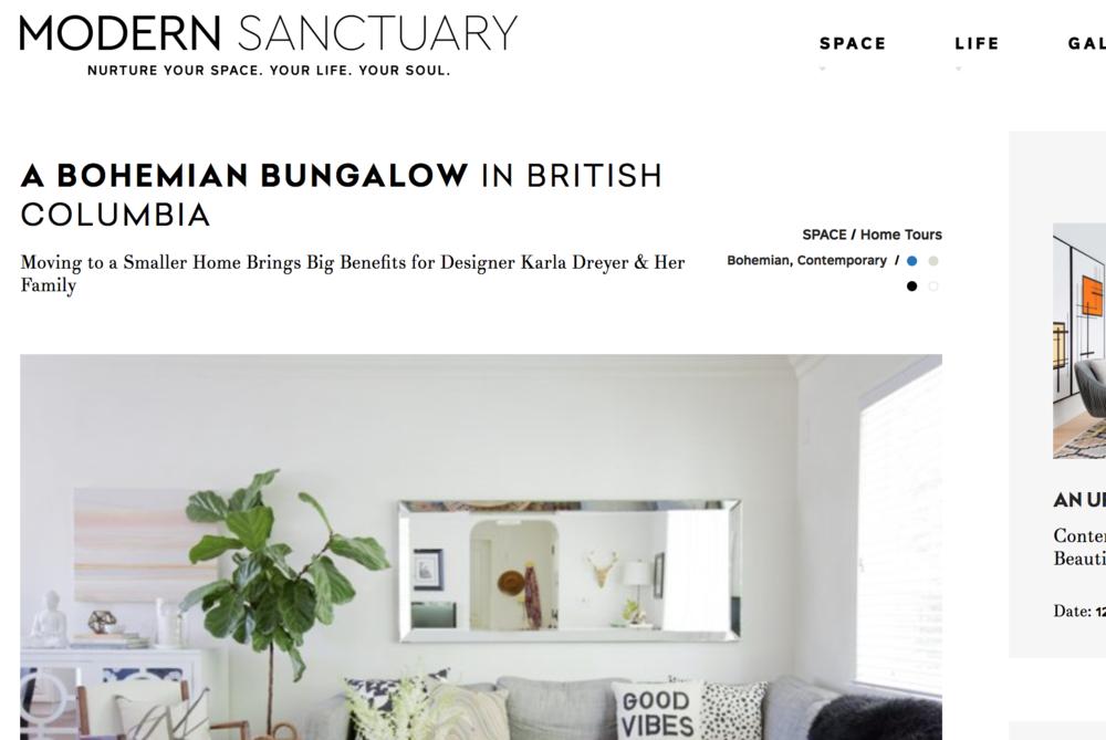 Modern Sanctuary | November 2017