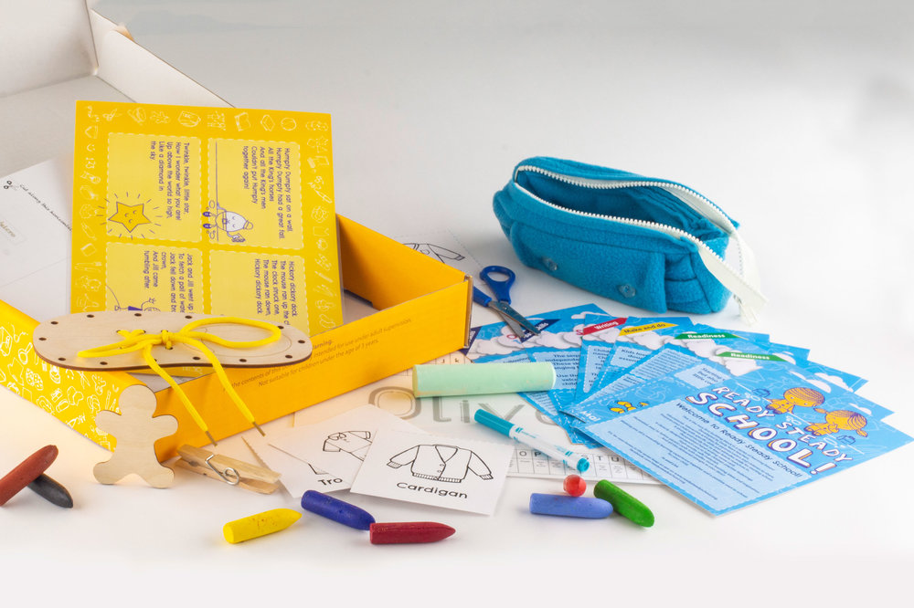 Tom and Pom Starting School Box can be bought as part of a special offer bundle with Tom and Pom Letters and Sounds box   saving £7 plus free postage and packaging   (see below)