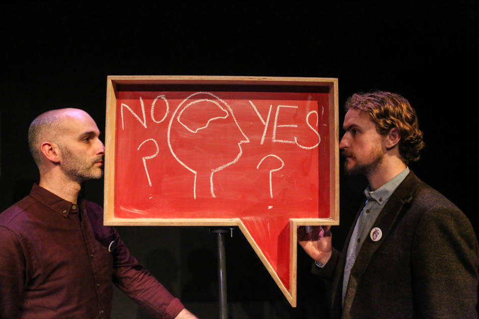 How to Choose?  - Written and performed Davey Anderson and Gary McNair. In the run up to the independence referendum 2014, Gary McNair and Davey Anderson looked a little deeper into the question of how we choose. Can we ever know what the right decision is?Funded by Creative Scotland