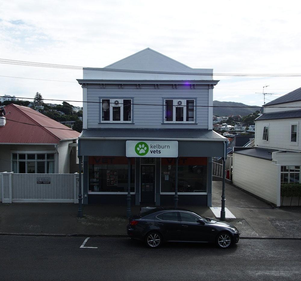 Kelburn vet clinic in Wellington