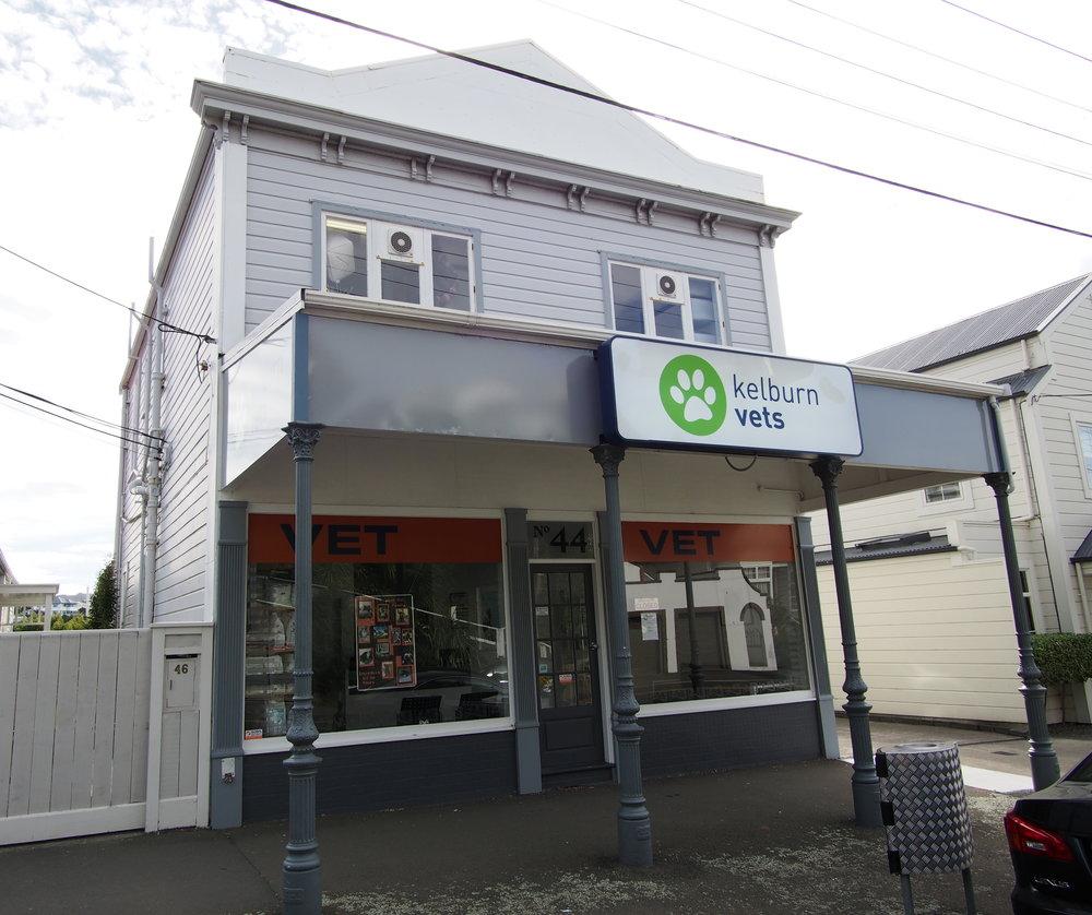 Kelburn Veterinary clinic in Wellington