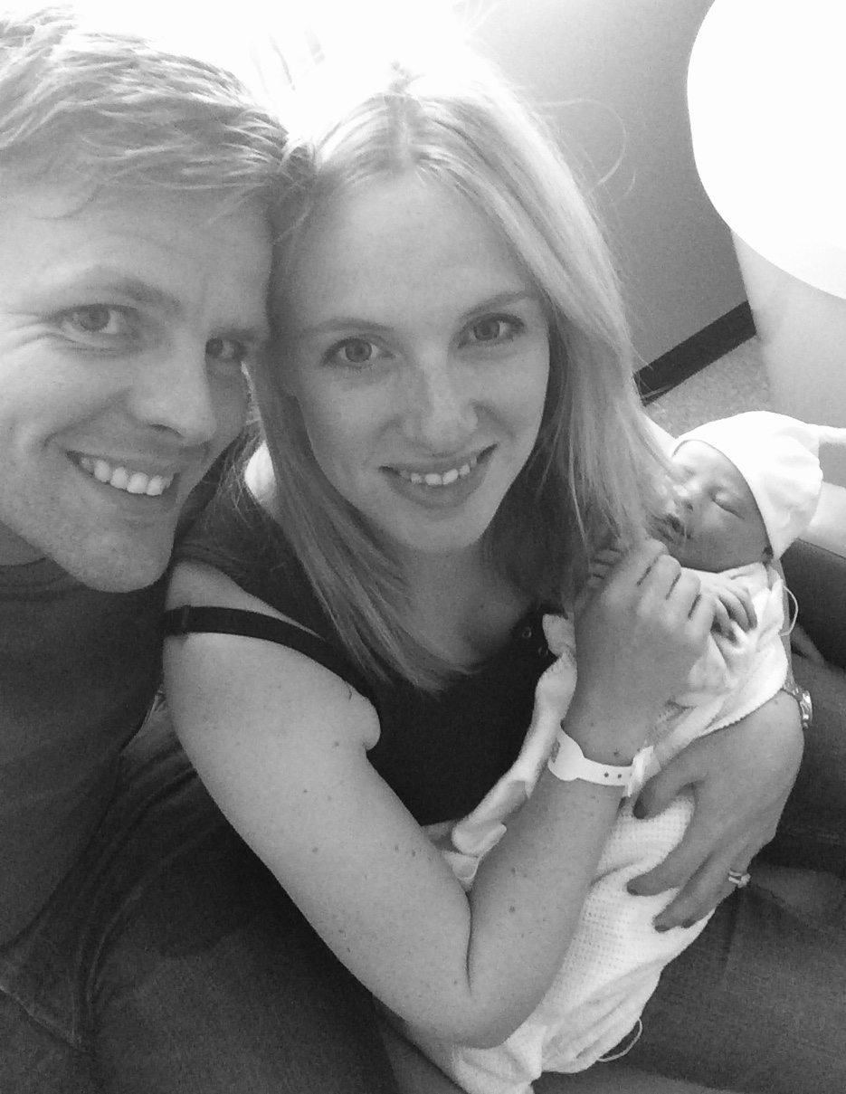 "JAKE & HARRIET HUMPHREY - BT Sport Presenter and his wife.""Sebastian was born is 2015 with no pain relief at all and his birth was everything we hoped for. Seb is the most calm, placid and happy baby and we can't thank Jackie enough for all she did for us.""@mrjakehumprey"