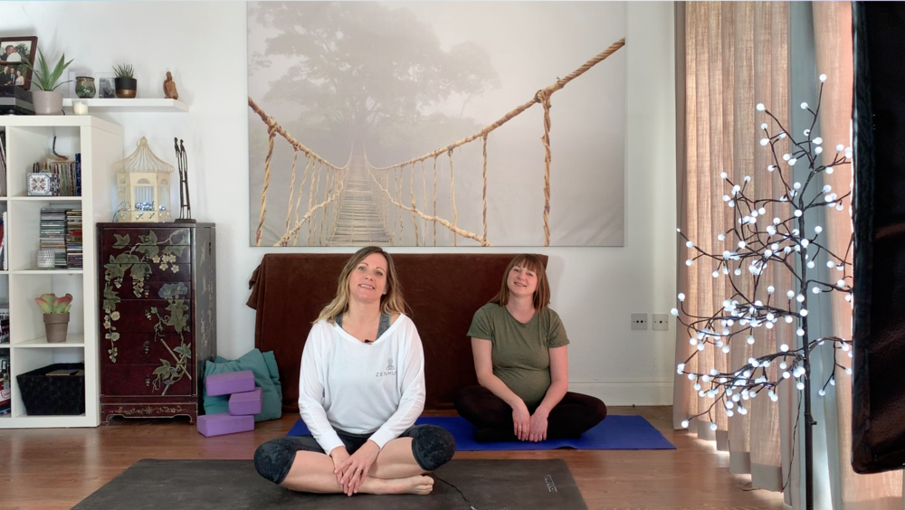 yoga at home videos