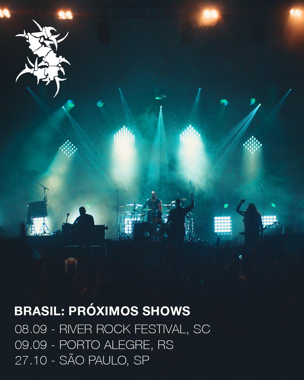 Brasil: Próximos shows
