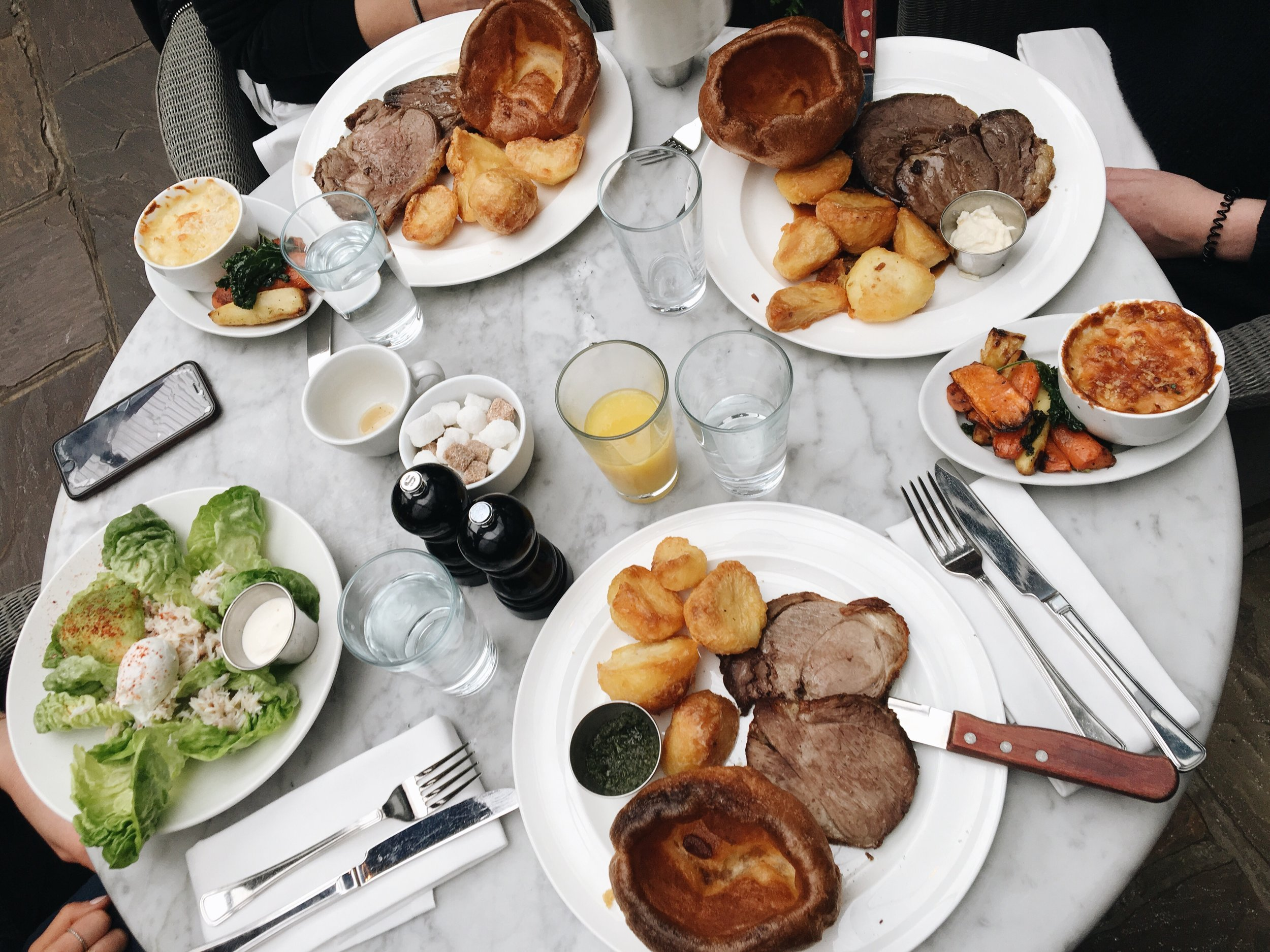 bynoelle-my-weekend-in-pictures-hoxton-grill-sunday-roast