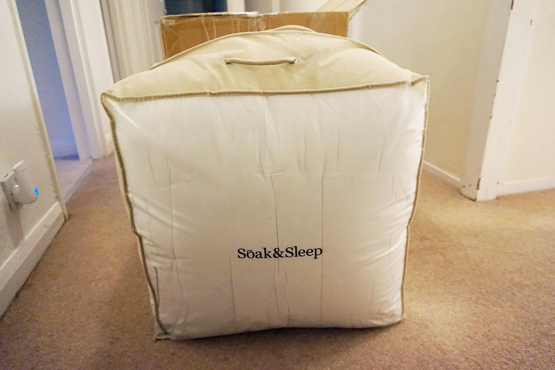 by noelle, soak and sleep mattress topper
