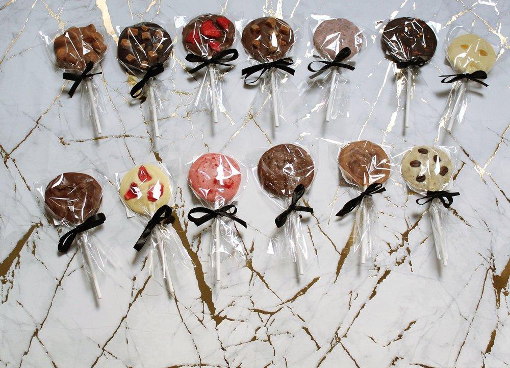 30g Chocolate Lollies