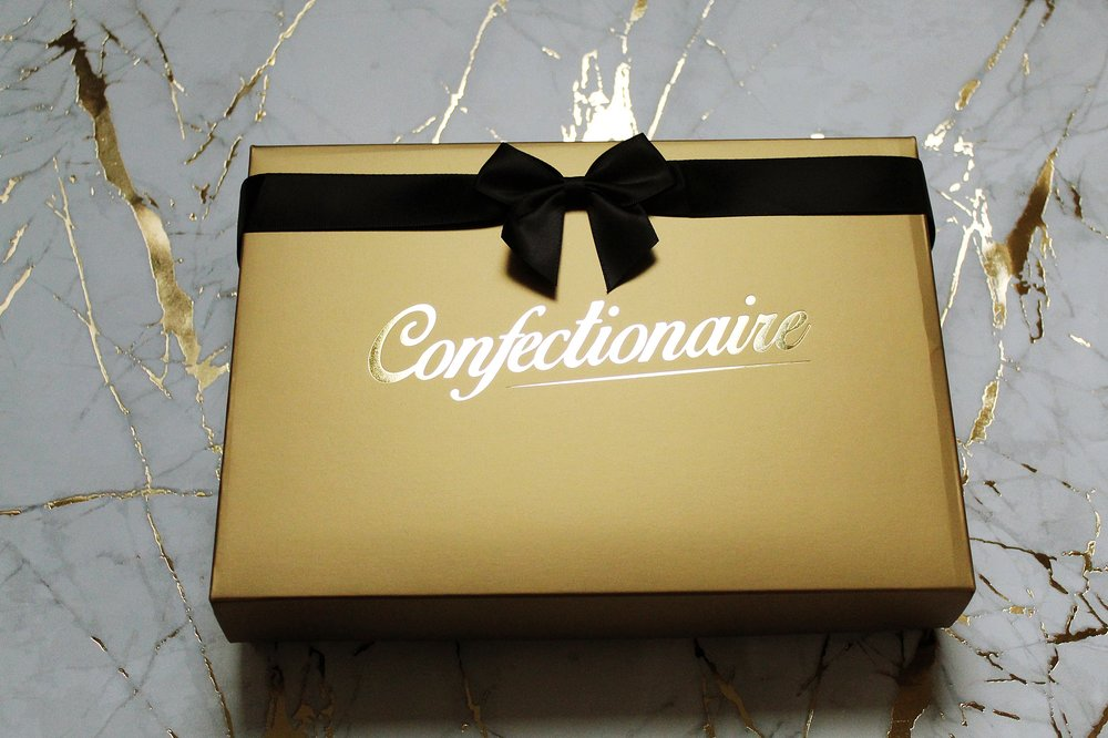 All collections are delivered in our lovely gift boxes either in black or gold!