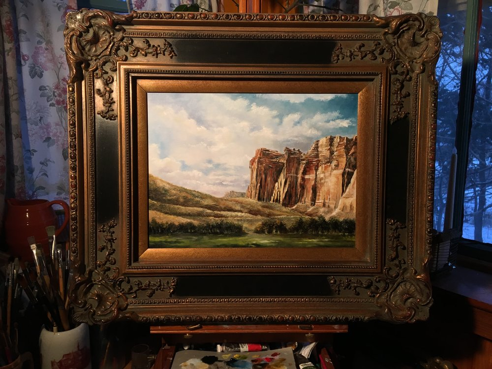 R. Michael Phillips - R. Michael Phillips is a classically trained artist who has been creating exceptional works of art for over 30 years.  Please feel free to email him using the form below about any of his paintings or a special commission.