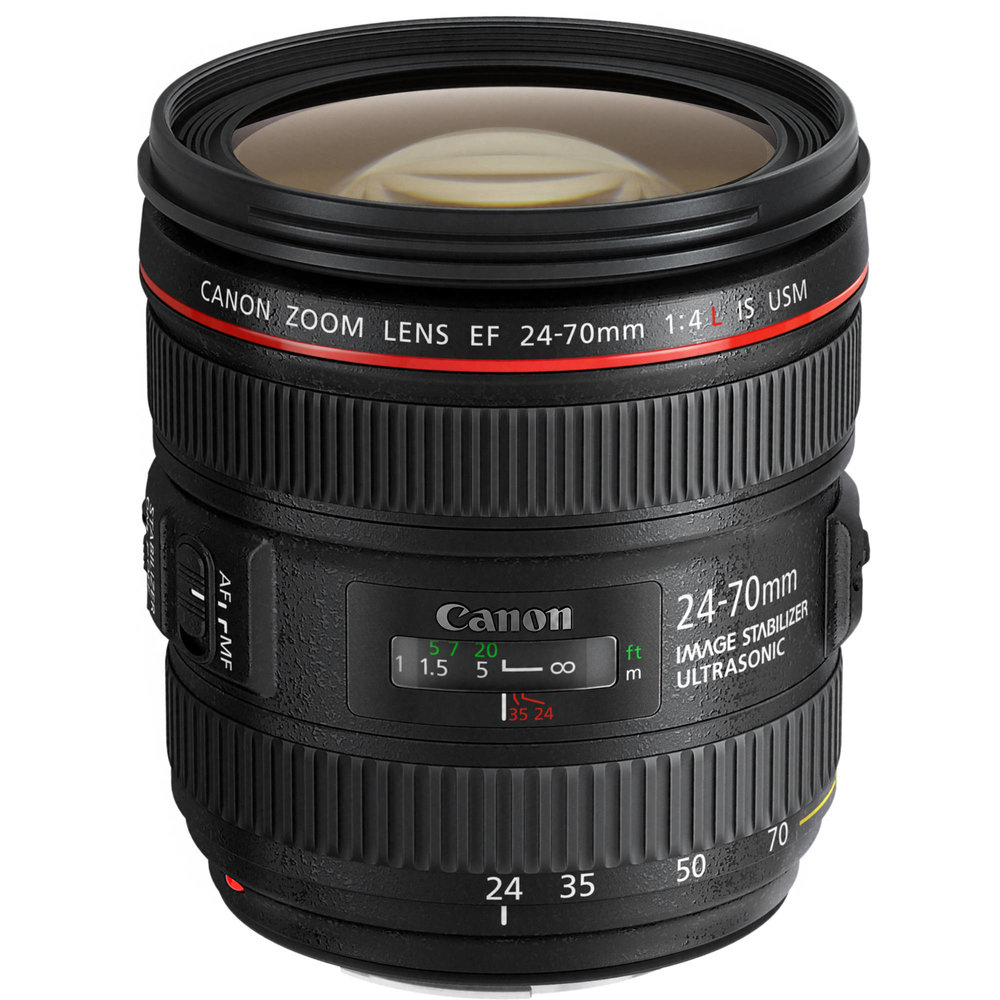 Canon EF 24-70mm f/4.0L IS USM -