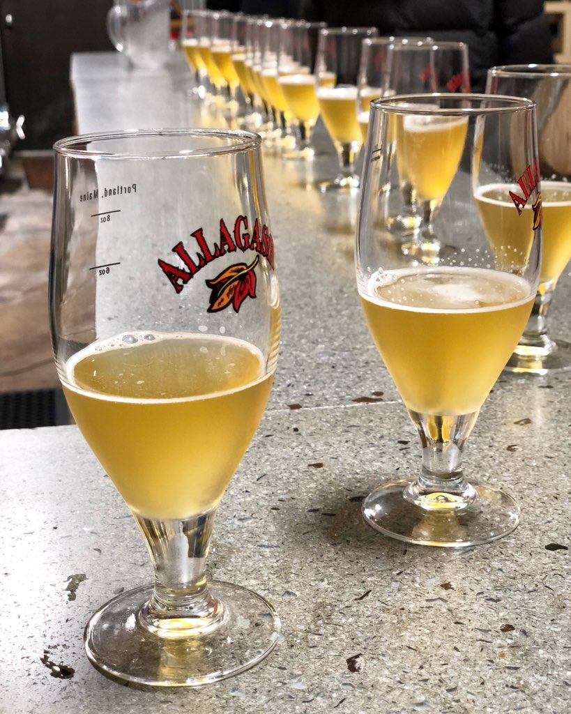 The Saison at the Allagash Brewery.  Book ahead a free (yes!) one hour tour with five tastings and two free discounted drink tickets.