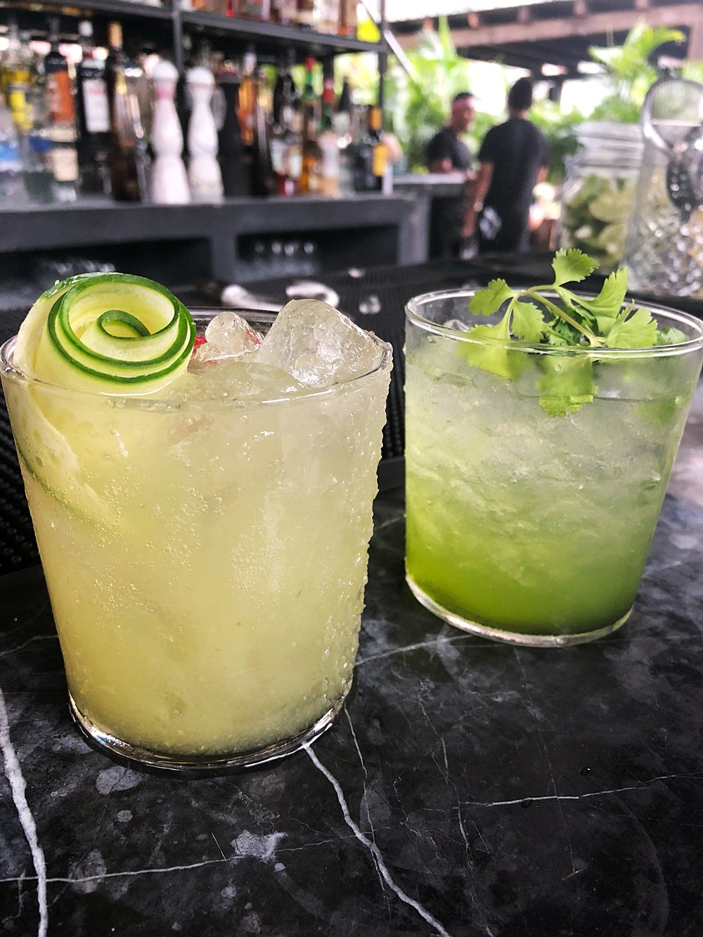 Drinks at Gitano NYC, the pop-up in Soho (expensive and overrated)