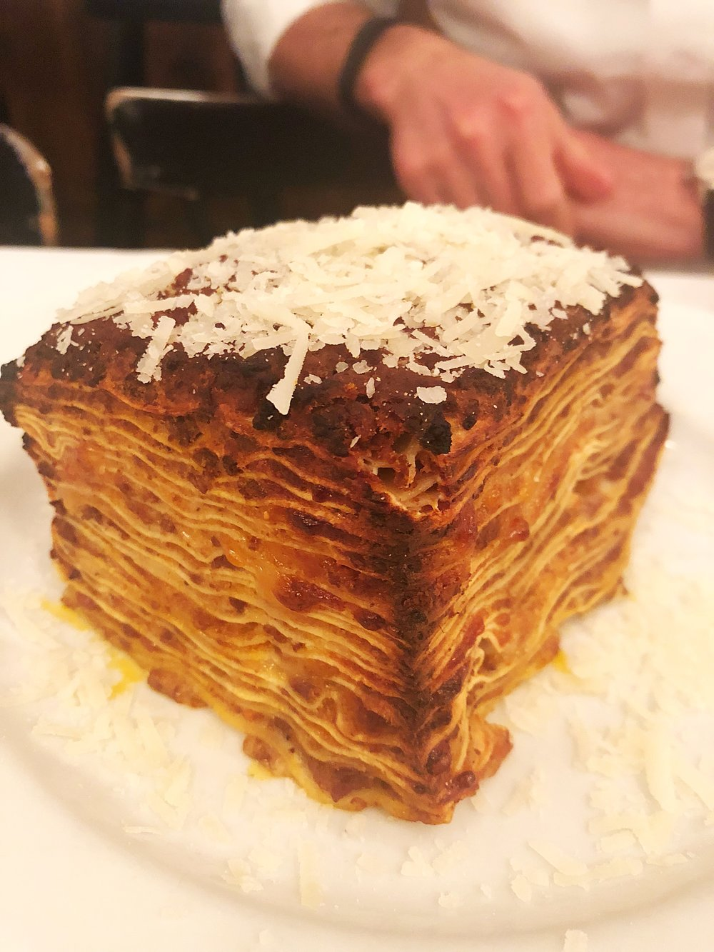 House made lasagna