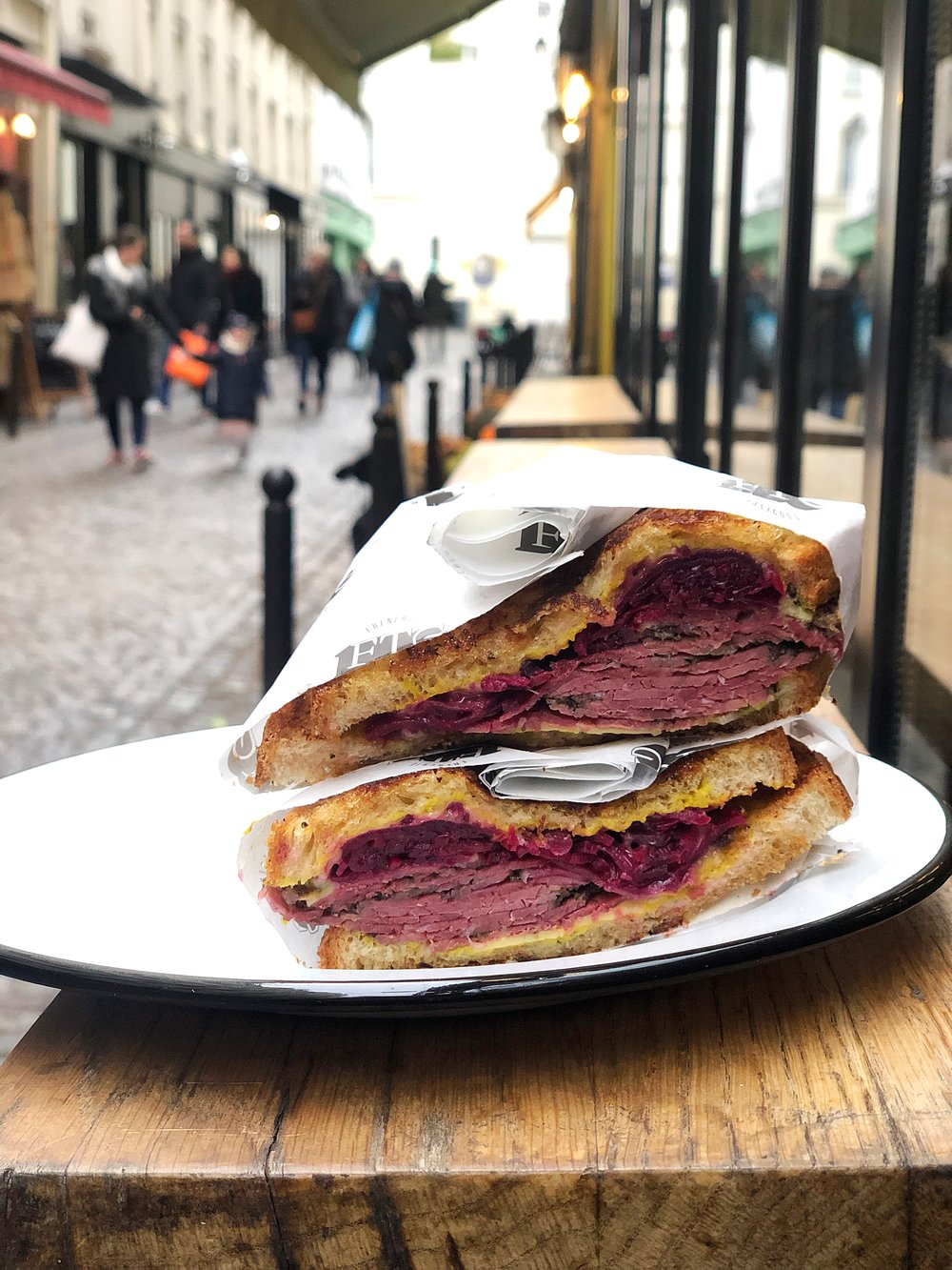 Rueben at Frenchie To-Go