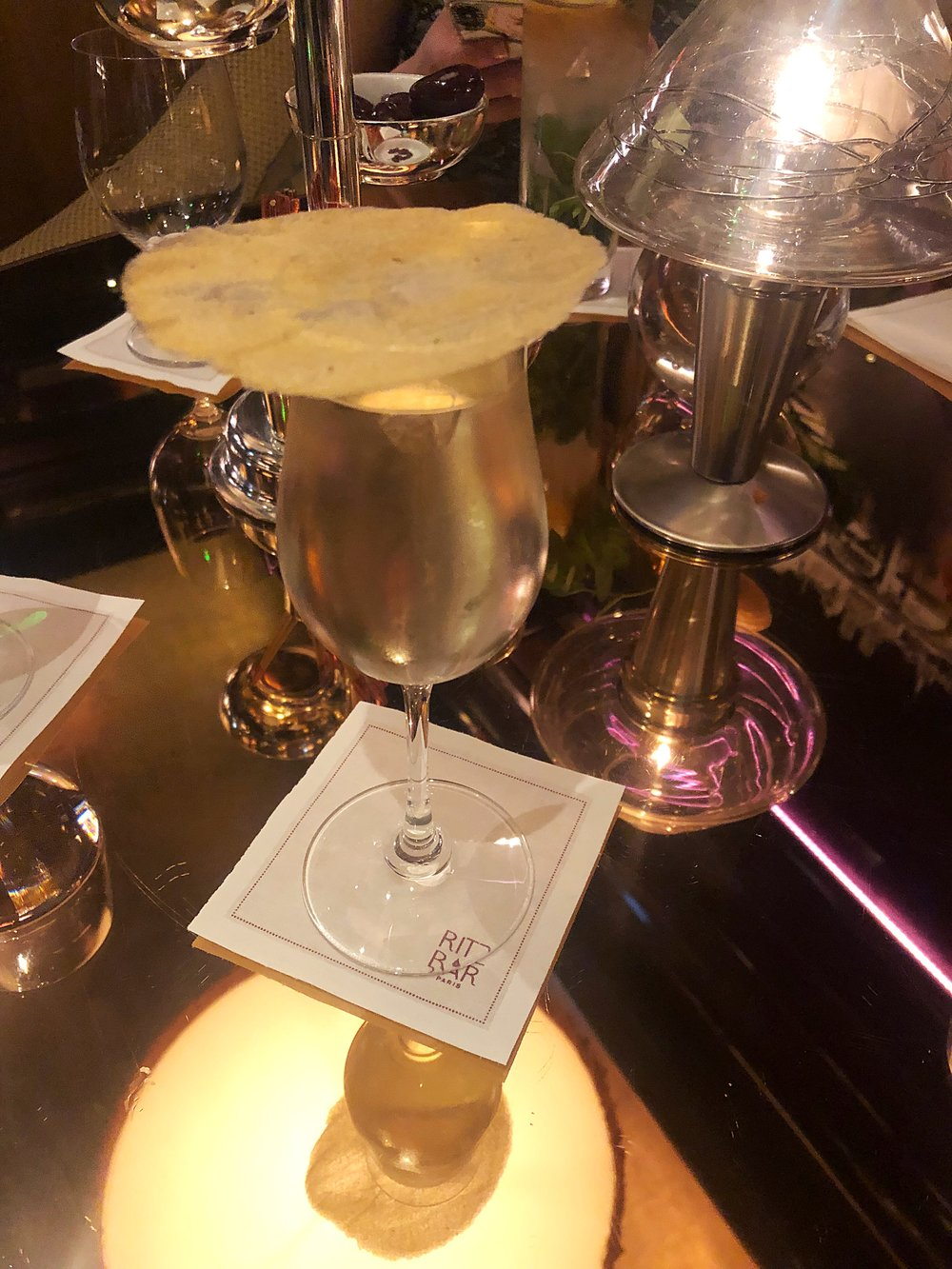 A 28 euro Gimlet at the Ritz