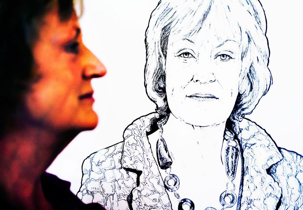 Burgemeester Annie Brouwer