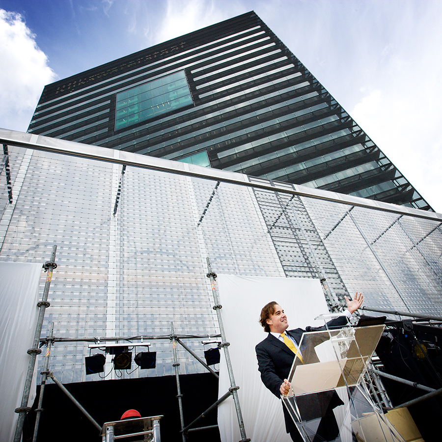 Opening RWS gebouw