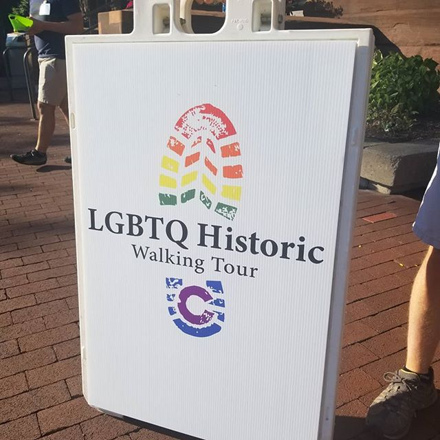 Startig now! LGBTQ History Tour :[Walk] in Color. #rocpride2018