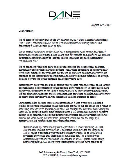 Q2 Letter 2017