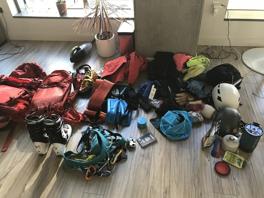 Seriously....just pack for every sport