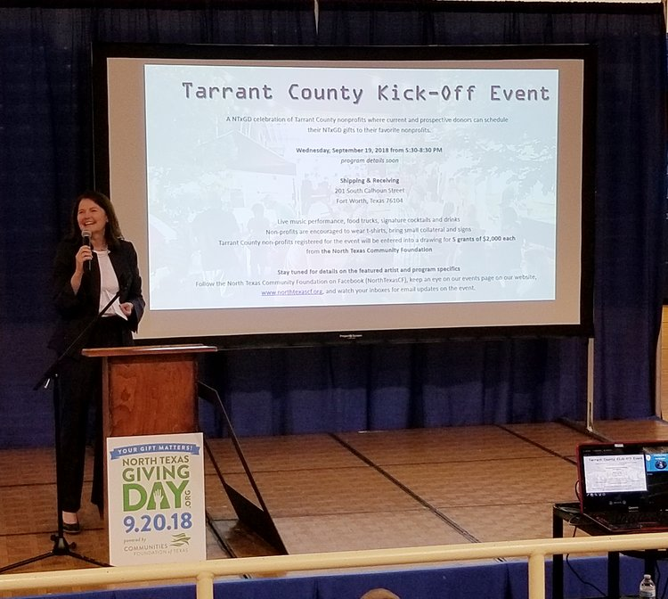 North Texas Giving Day 2018 — Project Partners