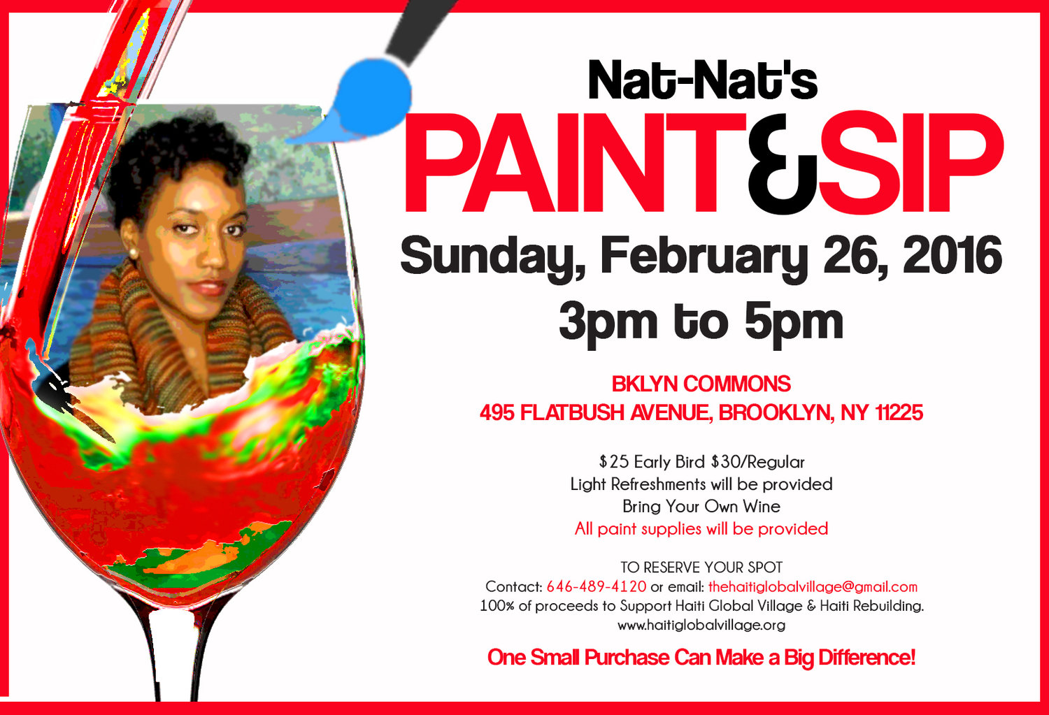 Paint and Sip with Nat-Nat — Nathalie Lubin Art