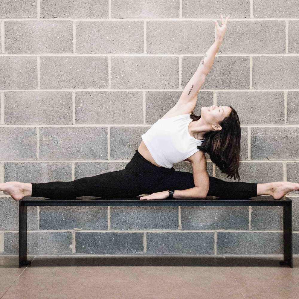 Meet Ellya, your Barre teacher for the workshop. Ellya has danced since the age of 3, and is a professional dancer as well as a Barre and Dance teacher. She has danced as part of several Australian and British companies. Her Barre classes are dynamic and take you through a full body workout — be prepared to feel the burn!
