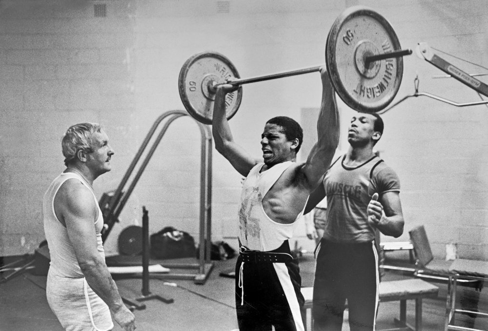 Weight Training London 1983